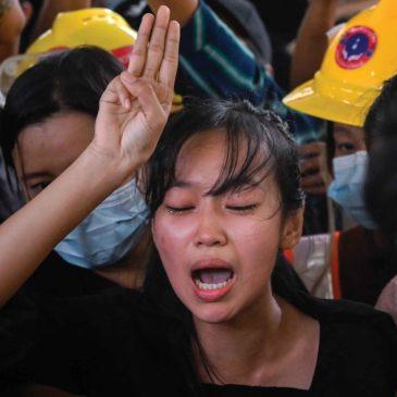 Lacrime per il nostro Myanmar