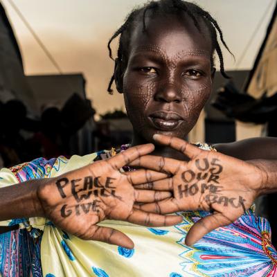"""Mary Moses, Mangaten Camp: """"La pace ci ridarà indietro la nostra casa"""""""