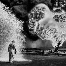 Kuwait: la terra in fiamme