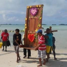 La Porta Santa mobile delle Isole Salomone