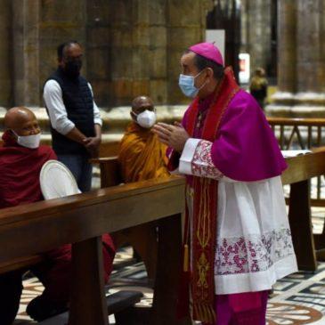 Milano: buddhisti e cattolici pregano per il Myanmar