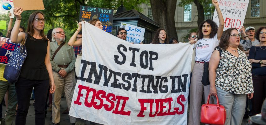 Ambiente: cresce il fossil fuel divestment