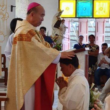 A Chiang Rai l'ordinazione del diacono Joseph