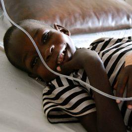 La buona notizia è il sorriso di Okello