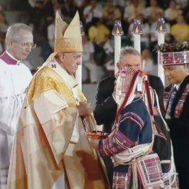 Thailandia, noi tribali al centro con il Papa