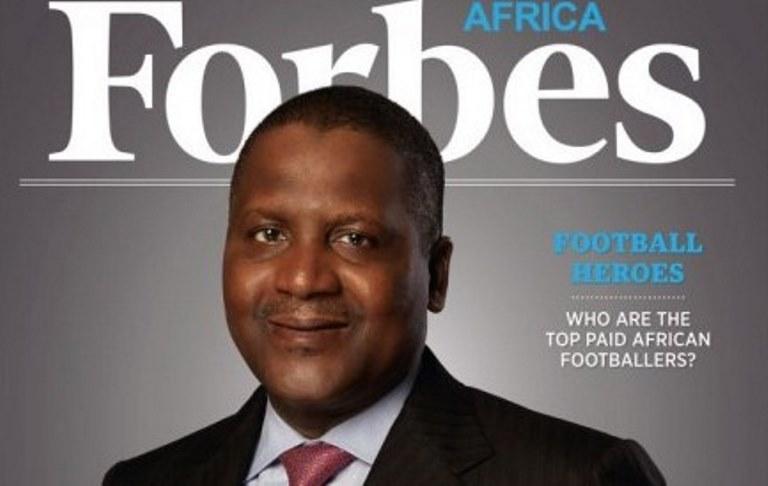 I 24 milionari neri non arricchiranno l'Africa