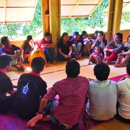 Giovani asiatici: entusiasmo e fede