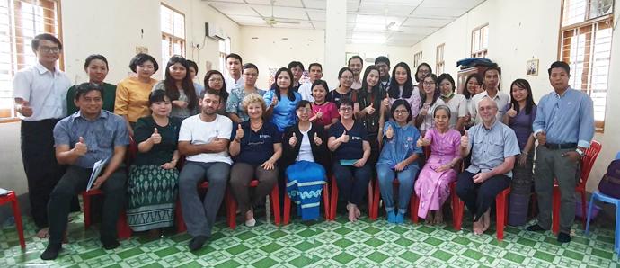 La Fondazione Don Gnocchi con New Humanity in Myanmar