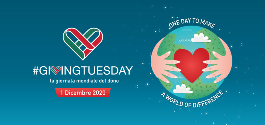 #GivingTuesday, un giorno per donare
