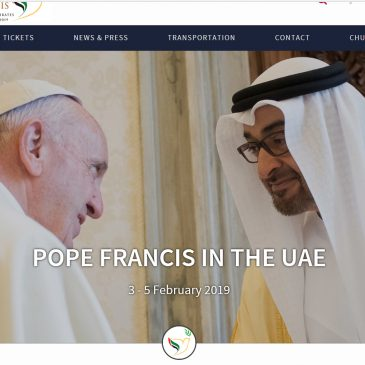 Papa negli Emirati, anche gli ebrei all'incontro interreligioso
