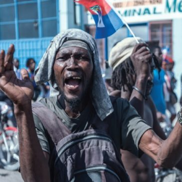 La mia Haiti di nuovo in fiamme