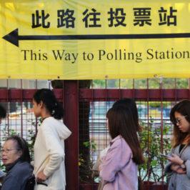 Hong Kong, «primarie» dei democratici nel mirino