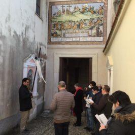 L'arcivescovo di Gaeta al santuario Pime della Montagna Spaccata