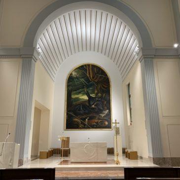 Milano, rinnovata la chiesa di San Francesco Saverio