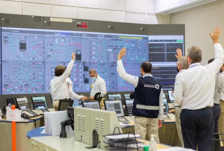 Gli Emirati accendono la prima centrale nucleare araba