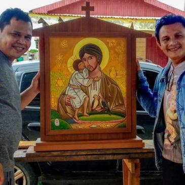 Il San Giuseppe con il volto dell'Amazzonia