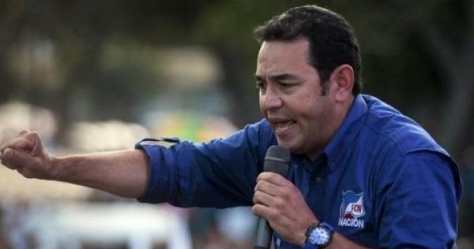 Il Guatemala del comico presidente