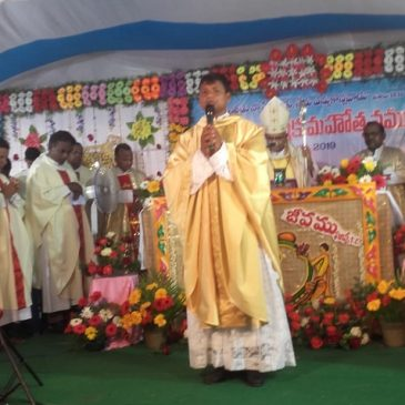 Padre Joseph ordinato sacerdote a Vijayawada