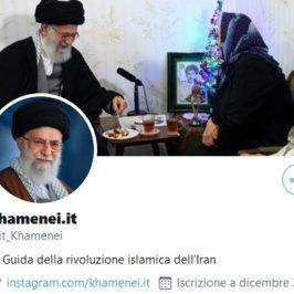 Iran, Khamenei adesso parla italiano