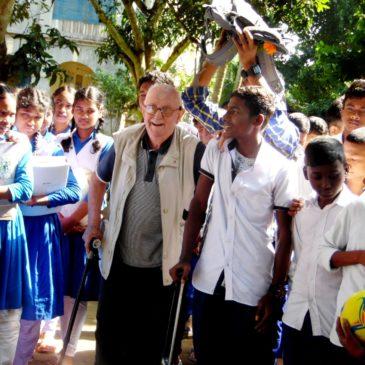 L'Imperio, il missionario costruttore in Bangladesh