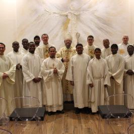 Con mons. Martinelli la festa di San Francesco Saverio