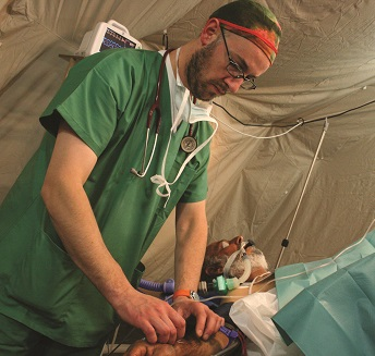 Medico in prima linea
