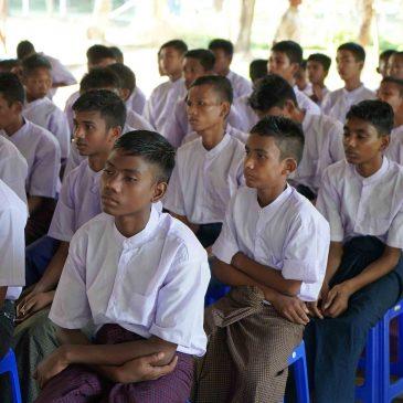 New Humanity, nuove aule nel riformatorio di Kawhmu