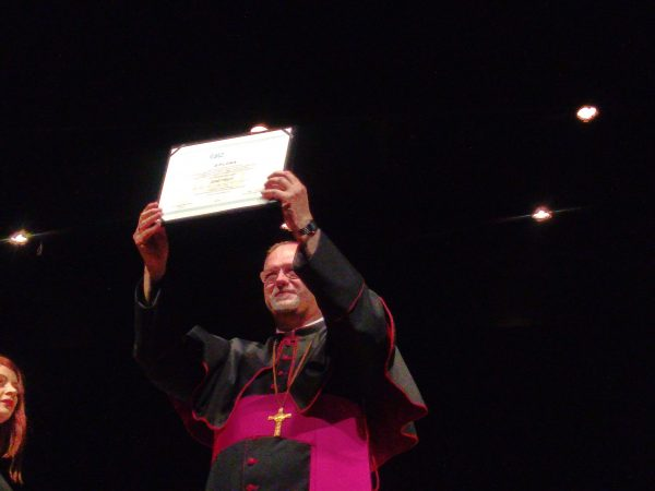 Laurea Honoris Causa a mons. Giuseppe Negri