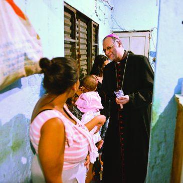 «Io vescovo nella San Paolo del Coronavirus»