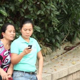 Manila studia l'app per i suoi lavoratori migranti