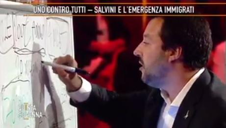 Salvini e i soldi da dare al Pime