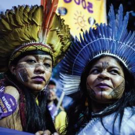 Brasile: basta terre agli indios