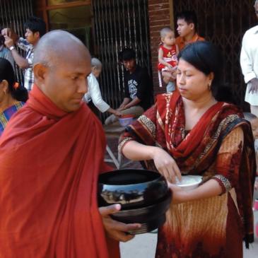 Buddha e Gesù nell'ostello tribale