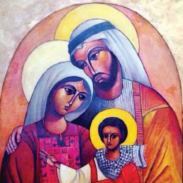 La kefiah di Gesù bambino