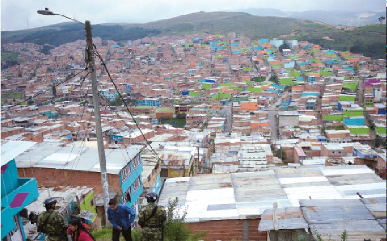 Nei barrios degli invisibili