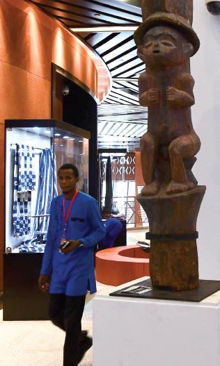 La grande casa dell'arte nera