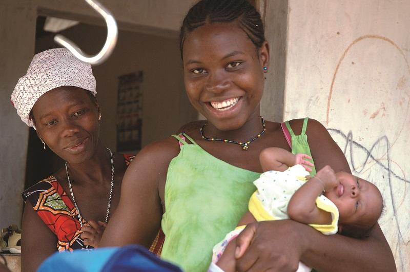 Natale per le mamme in Guinea Bissau