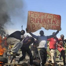 Burundi: un nuovo passo verso la guerra civile