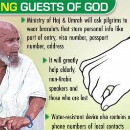 Alla Mecca col braccialetto elettronico