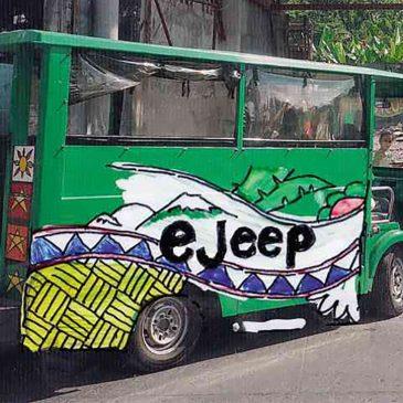 La riscossa degli e-jeepney