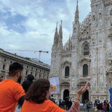 L'impegno dei giovani invade Milano