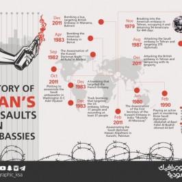 Contro l'Iran i sauditi arruolano anche l'infografica
