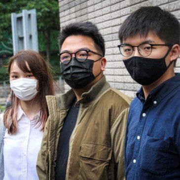 Joshua, Agnes, Ivan e il terrore bianco a Hong Kong