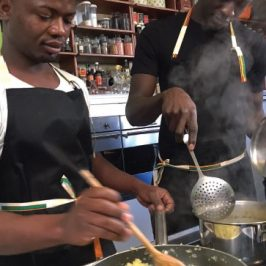 Kamba, a «Tuttaunaltrafesta» il cibo che fa bene