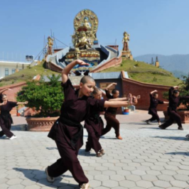 Le «Kung Fu Nuns» candidate al premio Havel