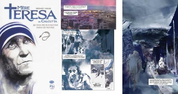 Madre Teresa vince il festival del fumetto