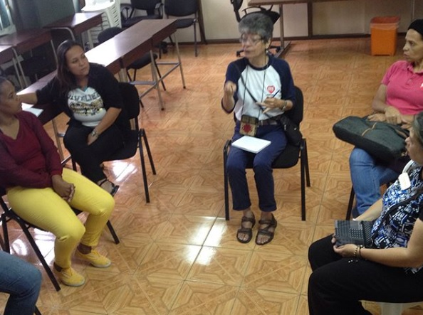 Le madri per la pace di Caracas