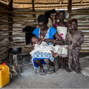 Sud Sudan: quando diventare mamma è una sfida