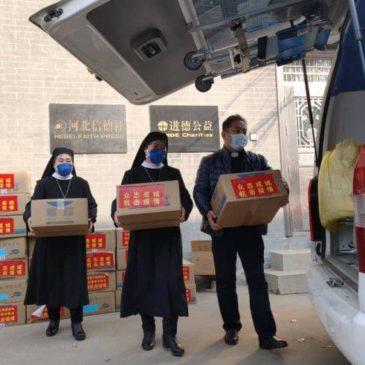 Padre Zhang e la solidarietà dei cattolici cinesi all'Italia