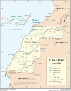 Cartina Marocco Politica.Venti Di Guerra Nel Sahara Occidentale Mondo E Missione